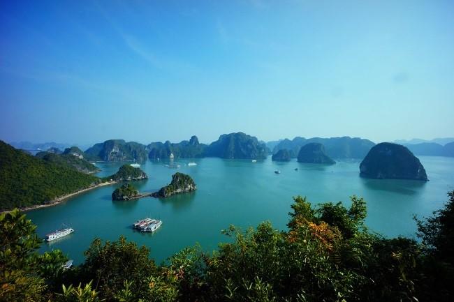 Vietnam Rejse - halong bay